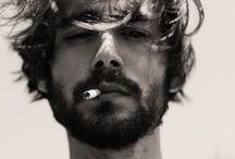 DAMN IT !! He has a beard