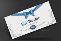 Gift Voucher Design / Inspiring best gift voucher design template collection for the modern businesses. PSD Gift Voucher Template Design Collection suitable for all sort of businesses.