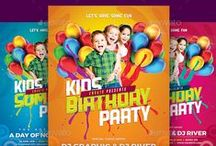 Birthday Invitation Templates / 100 + Birthday Invitation Templates | Free Birthday Invitation Templates + Premium Quality Birthday Invitation Templates | PSD Birthday Party Invitation Templates | Baby Shower Invitation Templates | Instant Download