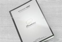 Menu Design / Hand picked food menu design template, restaurant menu design templates that makes the even more tasteful; eventually resulting in more sales. Best marketing materials that converts well for the food and restaurant industry.