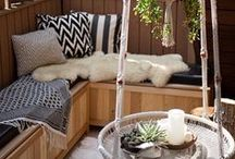 Boho Outdoors / Ideas and Inspiration for outdoor spaces