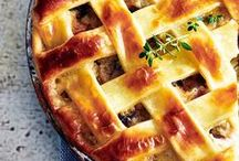 Perfect pies | Tesco / Sweet or savoury, this board contains 30 great pie recipes for you to try at home. Get your bake on!