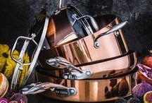 Go Cook | Tesco / Created with the chef in mind, this premium, professional-quality cookware features high-quality knives, durable pots and pans and innovative bakeware.