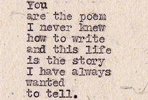 Words / by Natalie Baker