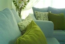 Cushions / Cosy and colourful  / by Leanne Sabine