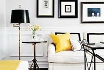 My Inspiration / Interior designs and fabrics from all over the globe that help to make the Tori Murphy brand what it is. Largely featuring monochrome schemes and natural materials.