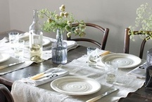 Set The Table / Love to set the stage before sharing a meal.  / by Leanne Sabine