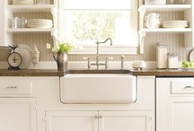 White Cottage Kitchens / by Debbie Young