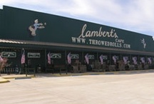 A trip to lambert's with mom & dad / by Olivia Starnes Brown