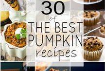 Fall Holiday Food - Pumpkin!