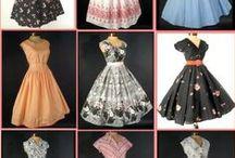 vintage dresses (1950s) / by Jen Taylor