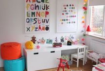 Play Room|Area / Kids play room or area, set up ideas, furniture, organization tips  / by Stephanie DiOrio
