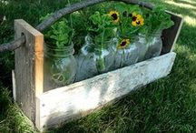 Pallet projects / Rebecca and I are both intrigued!