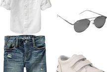 B O Y Fashion / Baby and toddler fashion, outfits, shoes,  / by Stephanie DiOrio