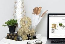 Blogging and such / Inspiration from pretty blogs and handy tips on blogging