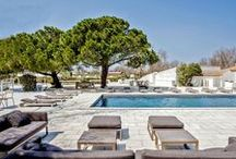 Boutique hotels France / A selection of beautiful boutique hotels in France for a chic family holiday.  Hotels on the French riviera, in Paris, on the beach