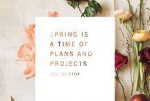 Seasonal : Spring / by Jennifer Simmons