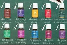 Young Living essential oils / by Stephanie Weigle