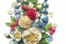 Crochet Flowers & Oya