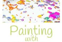 Painting with...