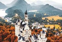 Germany / All the best bits of Germany! Tiny medieval towns, forests, cities, and food!