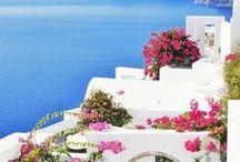 Greece / Greek travel inspiration!   Mainland & Greek Islands