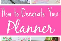 Happy Planner and Bullet Journal Ideas / Tips, ideas, freebies, and more to help you use your Happy Planner to plan your life and have a little fun while doing it.