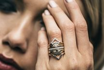 Stacking Rings / Delicate fine jewelry bands for stacking.
