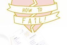 How to Fail! Podcast / How to Fail! Podcast, dealing with failure, overcoming failure, being imperfect, failure in business, personal failure, getting through failure, dealing with heartbreak
