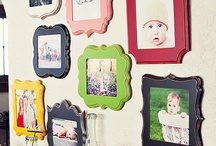Photo/Frame display Ideas / by Jodi Hershey