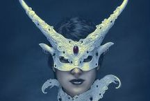 Masks / Decorative masks and art