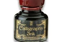 Calligraphy / For the art of calligraphy