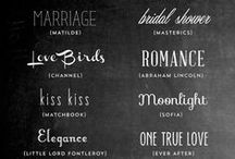 fonts / by Chelsea Olivia // Olive & Ivy