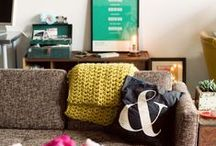 apartment: living room / by Chelsea Olivia // Olive & Ivy