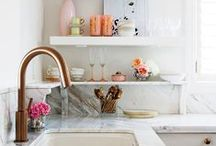 apartment: kitchen / by Chelsea Olivia // Olive & Ivy