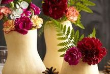 Table Top Décor / Create beautiful centerpieces, flower arrangements and so much more for your home