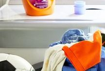 Laundry Tips / Use our helpful tips and guides to cleaning and organizing laundry time.