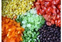 Salad days / Side salads or light meals