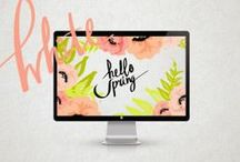 pretty graphics / by Chelsea Olivia // Olive & Ivy