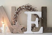 Alphabetically Speaking. . . / Decorating with letters