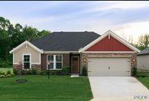 Ozark Craftsman C1 - Enclave at Eagle Cliff / Jagoe Homes, Inc. Project: Enclave at Eagle Cliff, Ozark C1. Location: Evansville, Indiana. Lot 21.