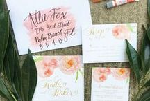Wedding Invitations / Inspiration for your #weddinginvite!