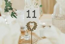 Table Numbers / We love these table number ideas for your #wedding!
