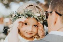Kids At Weddings / Kids make the cutest photo opps!