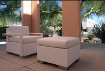 Lanikai Beach Collection / The geometric angles and clean lines make this captivating tropical collection!! Lanikai Beach's contemporary design has a fresh new look. All weather cushions for a modern, monochromatic look or choose vibrant color  · Treated poplar wood frame · Mesh fabric base with excellent dimensional stability & flexibility in all climates · Designed for an active lifestyle with easy comfort · 100% Waterproof Fabric, Rain, is also Fade, Stain and Mildew Resistant