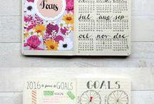 journalling inspiration / bullet journals