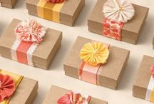 Give | Pretty Packaging / by Andrea Brame | Writer