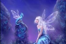 The Art of Rachel Anderson / Fairy and fantasy art by Rachel Anderson. An enchanting world of magic... fairies, angels, mermaids, unicorns, and more!