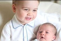 KaTe & WiLLiAm & GeOrGe & ChArLoTTe :) / I love Duchess Kate. So there will be some pics of William and of course Prince George he is such a little cutie. I wish them a lot of luck.No claims to these pins. / by Deb (O'Neill) Polito
