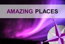 Amazing Places... / Travel the world's most amazing places from mountain tops to the deep ocean.  Archaeological treasures to wonders of architecture. Be amazed.